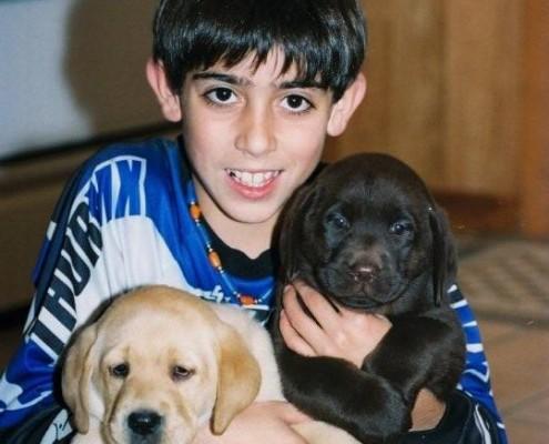 Het wormenrisico voor puppies